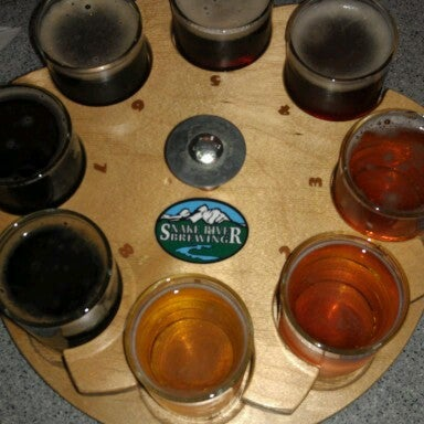 Photo taken at Snake River Brewery & Restaurant by Brad G. on 10/14/2012