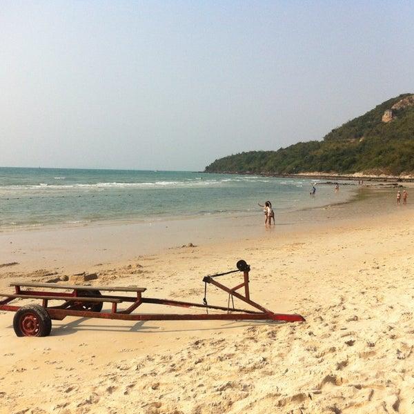 Photo taken at Sai Keaw Beach by Stas K. on 3/5/2013
