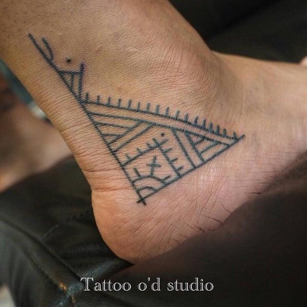 Photo taken at Tattoo O'd studio by Boho M. on 12/6/2016