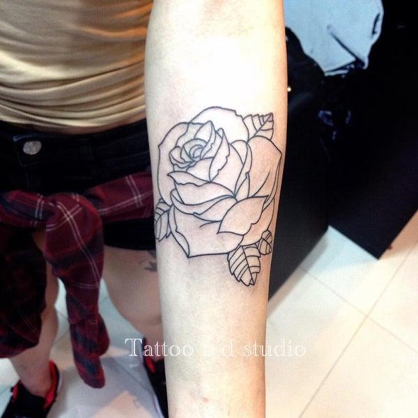 Photo taken at Tattoo O'd studio by Boho M. on 12/16/2016