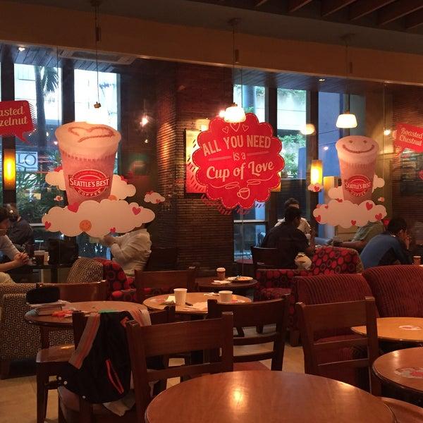 Photo taken at Seattle's Best Coffee by Trissie C. on 3/17/2015
