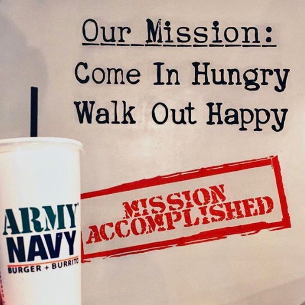 Photo taken at Army Navy Burger + Burrito by Trissie C. on 5/22/2017