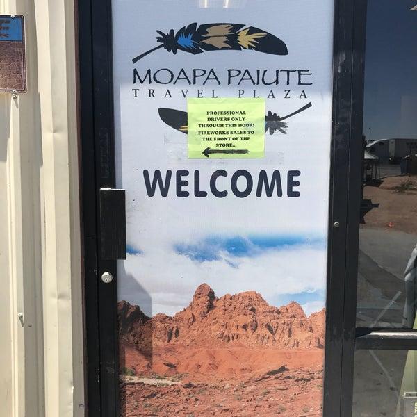 Photo taken at Moapa Paiute Travel Plaza / Chevon Gas by Kevin V. on 7/4/2017