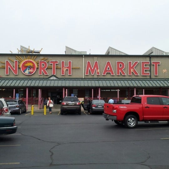 Photo taken at North Market by Yazeed A. on 9/21/2012