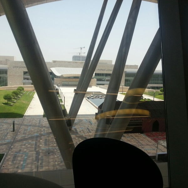 Photo taken at Qatar Science and Technology Park by Pedro S. on 7/9/2013
