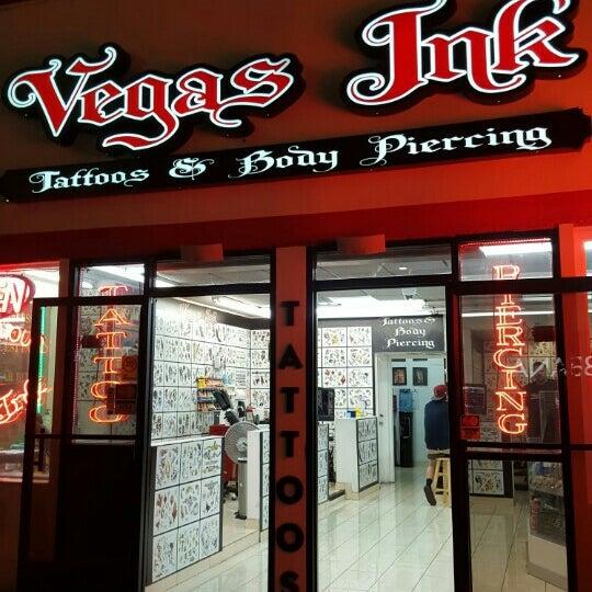 Vegas ink the strip las vegas nv for Tattoo shops on the vegas strip