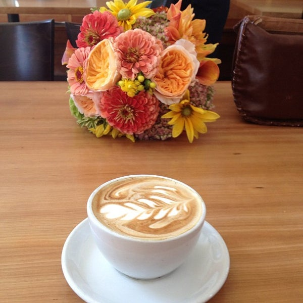 Photo taken at Victrola Cafe and Roastery by john r. on 9/15/2012
