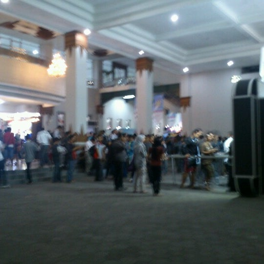 Photo taken at Jogja Expo Center (JEC) by Go'Beck A. on 10/1/2012