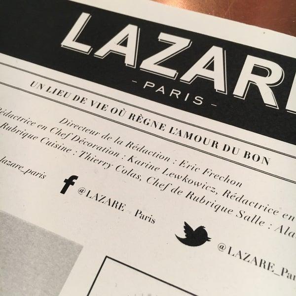 Photo prise au Lazare Paris par Martine le11/27/2017