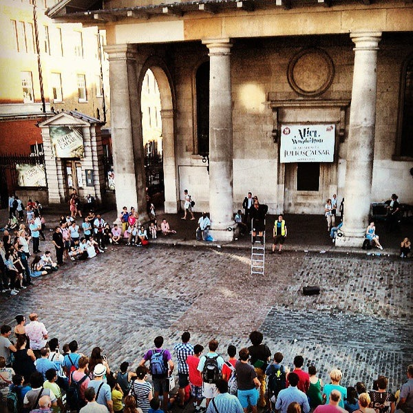 Photo taken at Covent Garden Market by Clay V. on 7/18/2013