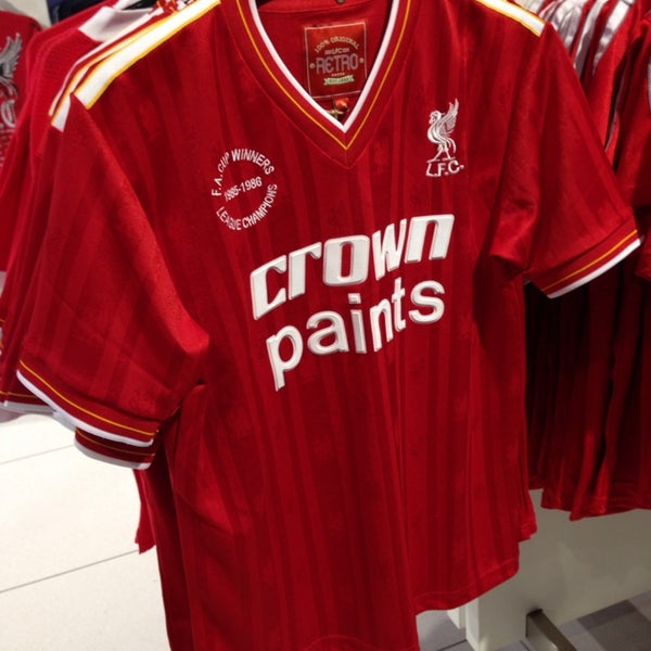 Photo taken at Liverpool FC Official Club Store by Say Pin L. on 10/19/2013