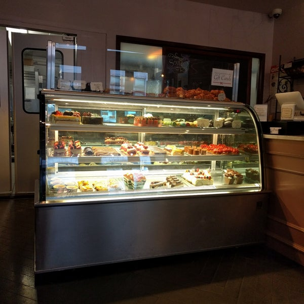 Photo taken at Almondine Bakery by Adrienne S. on 6/11/2017