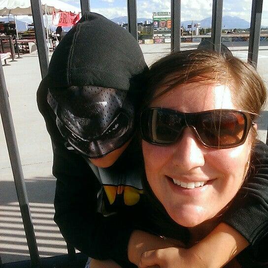 Photo taken at Brent Brown Ballpark by Marisa B. on 8/15/2014