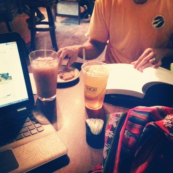 Photo taken at Bennu Coffee by Jin C. on 7/27/2013