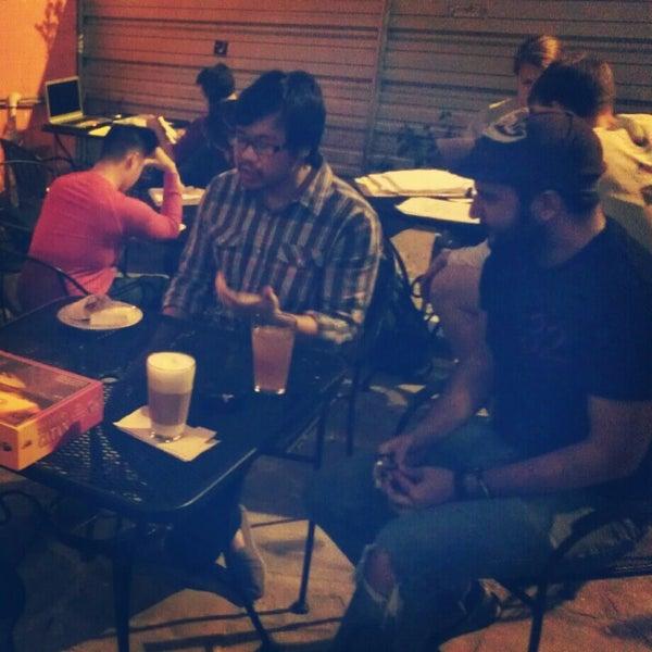Photo taken at Bennu Coffee by Jin C. on 12/9/2012