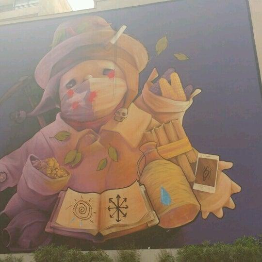 Das Foto wurde bei Barrio Bellas Artes von Aline B. am 10/11/2016 aufgenommen