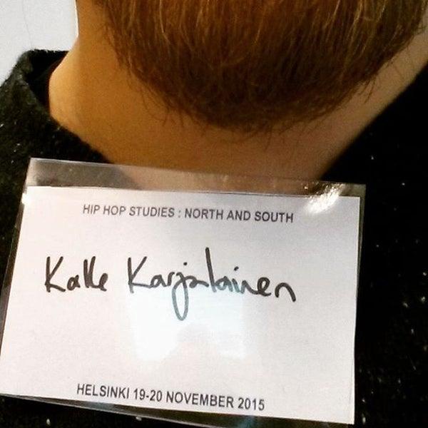 Photo taken at Kauppakorkeakoulu by Kalle K. on 11/19/2015