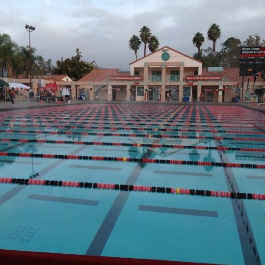 Rose Bowl Aquatic Center Pool In Pasadena
