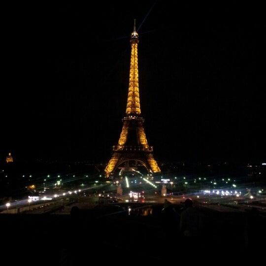 Photo prise au Place du Trocadéro par Valéry M. le11/6/2012