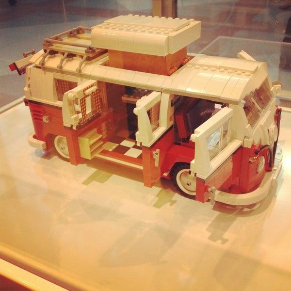 Photo taken at LEGO Store by Kathleen B. on 1/2/2014