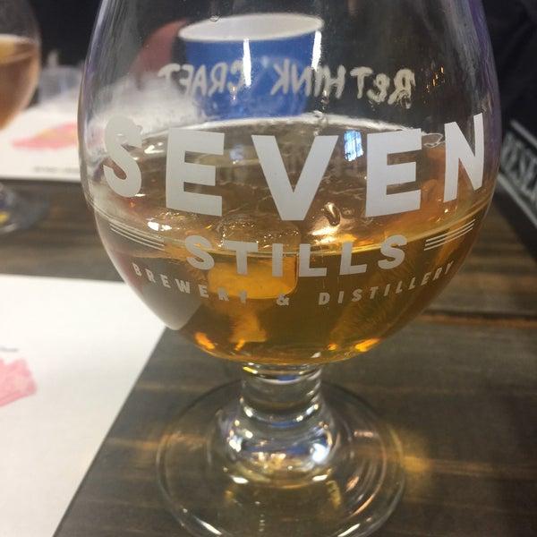 Photo taken at Seven Stills Brewery & Distillery by Clay R. on 2/26/2017