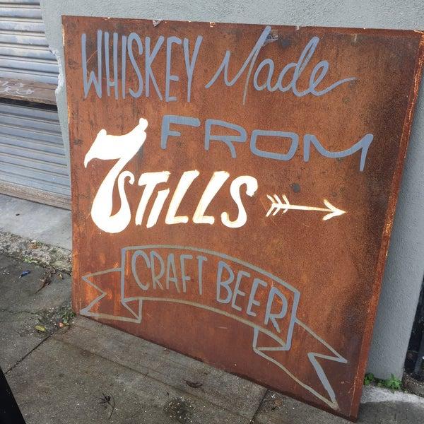 Photo taken at Seven Stills Brewery & Distillery by Clay R. on 2/19/2017