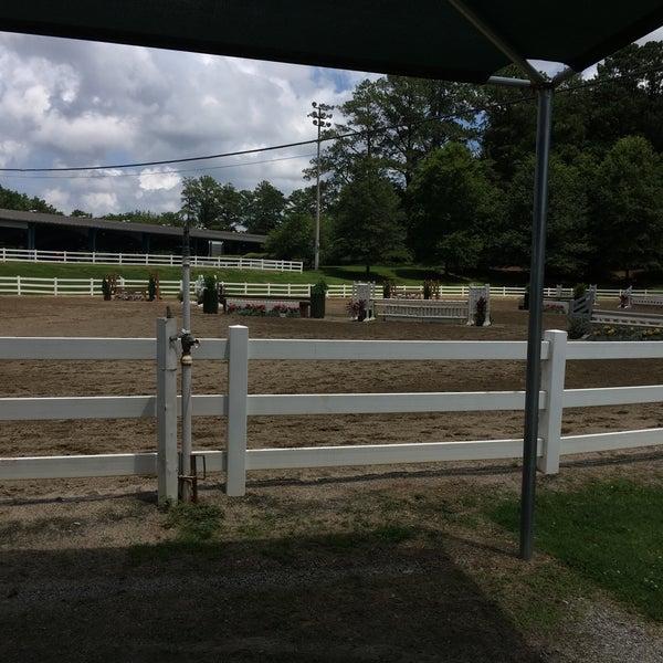 Photo Taken At Wills Park Equestrian Center By JamieLynne W On 7 1