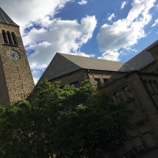 Photo taken at Uris Library by Mark on 6/8/2017