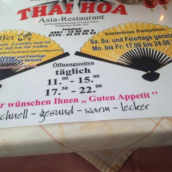 Asia Restaurant Thai Hoa Rostock