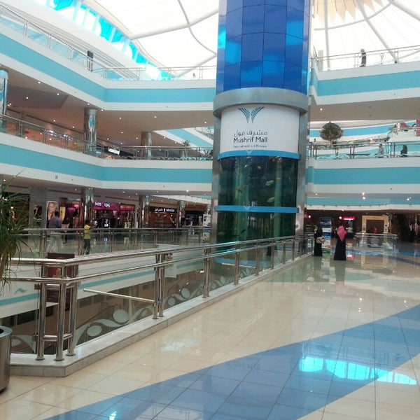 Photo taken at Mushrif Mall by Lily F. on 4/6/2013