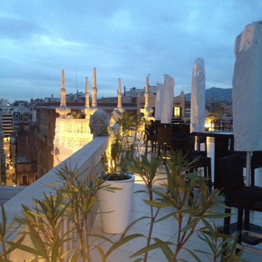Photo taken at Hotel Casa Fuster by Cristiane P. on 12/13/2012