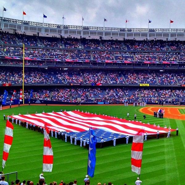 Photo taken at Yankee Stadium by Jeffrey P. on 7/13/2013