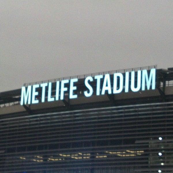 Photo taken at MetLife Stadium by Linda T. on 7/26/2013