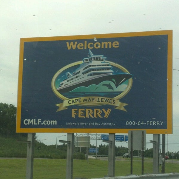 Photo taken at Cape May-Lewes Ferry | Cape May Terminal by Linda T. on 8/10/2013