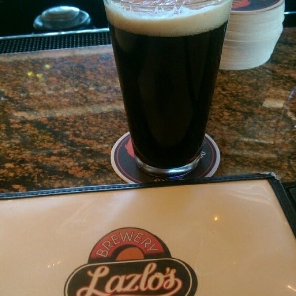 Photo taken at Lazlo's Brewery & Grill by James H. on 3/21/2015