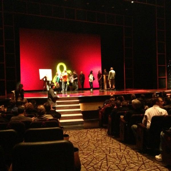 Foto tomada en Penn & Teller Theater por Carter el 2/14/2013