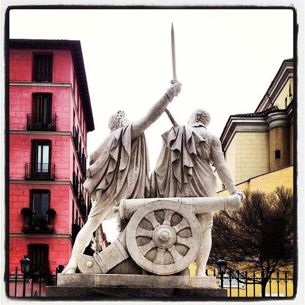 Photo taken at Plaza del Dos de Mayo by Alejandro C. on 3/4/2013