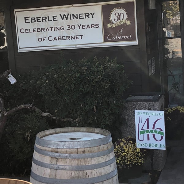 Photo taken at Eberle Winery by Carol S. on 11/5/2017