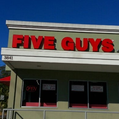 Five Guys Kennedy - Order Online