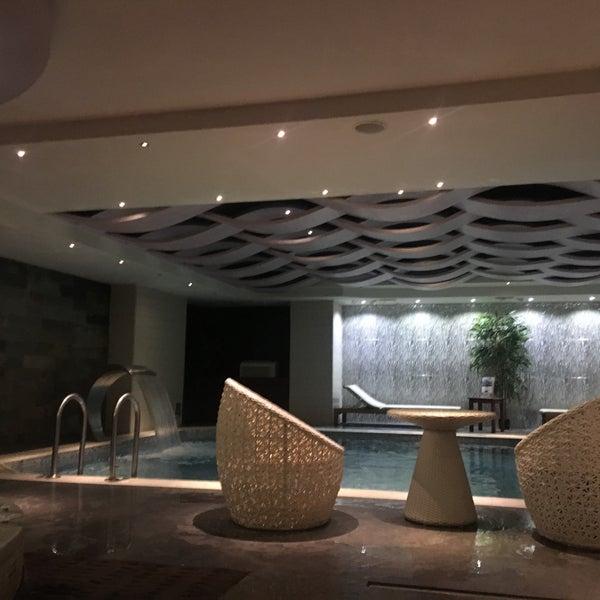 2/17/2018 tarihinde Angelina F.ziyaretçi tarafından Queen Hotel & Spa'de çekilen fotoğraf
