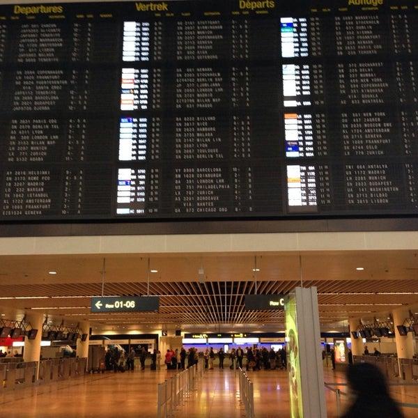Снимок сделан в Брюссельский аэропорт (BRU) пользователем ellenvdb 11/1/2013