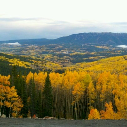 Photo taken at Crested Butte, CO by Tommy B. on 9/25/2012