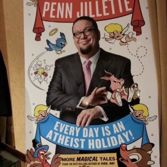 Foto tomada en Penn & Teller Theater por Fábio S. el 2/19/2013