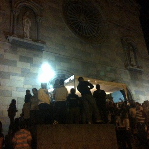 Photo taken at Iglesia Nuestra Señora De La Chiquinquira by Rebeca G. on 11/19/2013