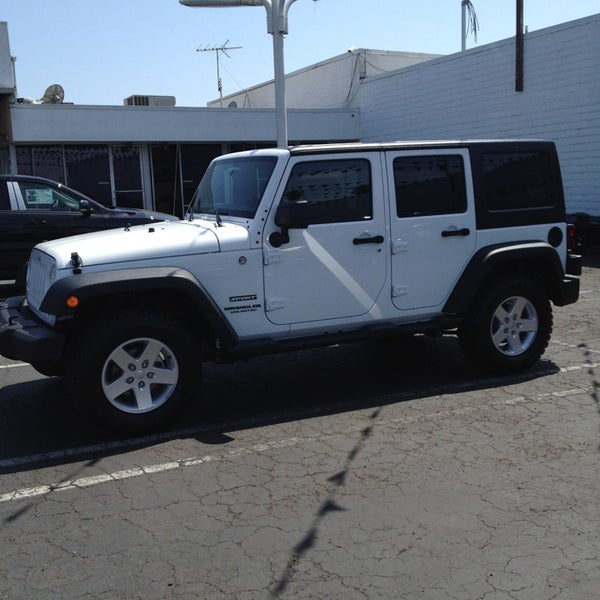 Photo Taken At Huntington Beach Chrysler Dodge Jeep Ram By Leah B. On 5/