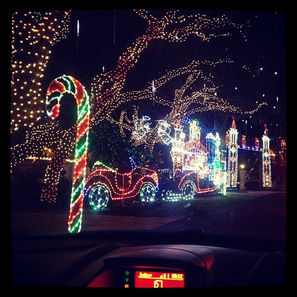 photo taken at snug harbor christmas street of lights by molly p on 12