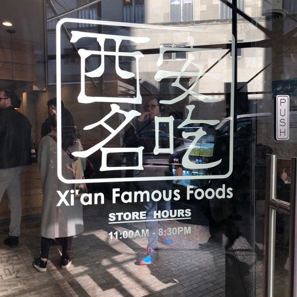 Foto tirada no(a) Xi'an Famous Foods por Amelia G. em 11/16/2017