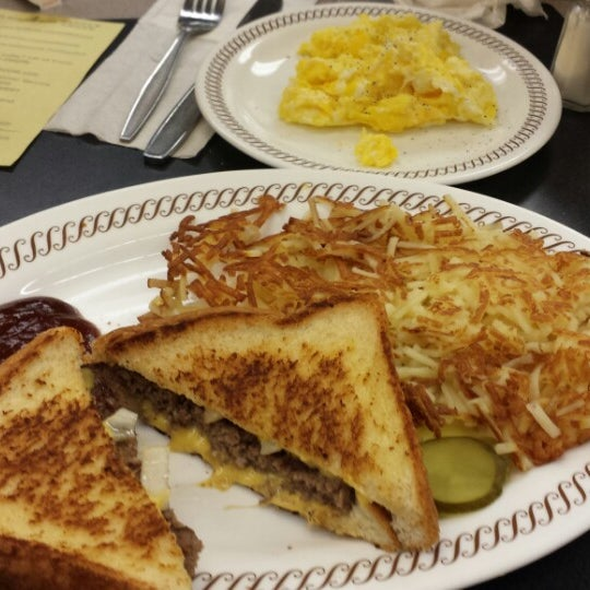 Photo taken at Waffle House by bill c. on 4/15/2014