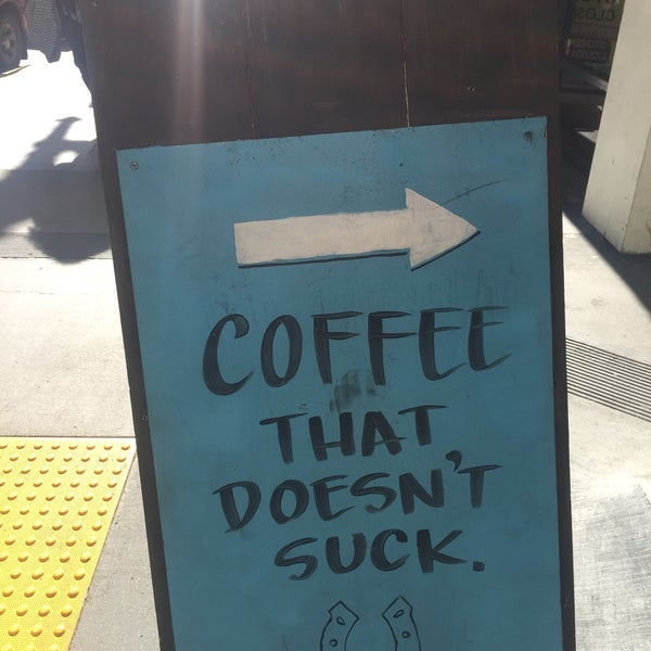 Photo taken at Iron Horse Coffee Bar by Cait W. on 2/16/2016