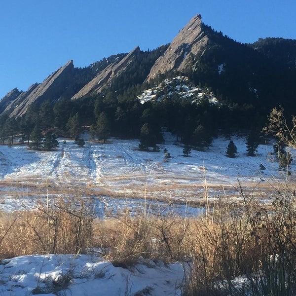 Photo taken at Colorado Chautauqua National Historic Landmark by Swen G. on 12/24/2015